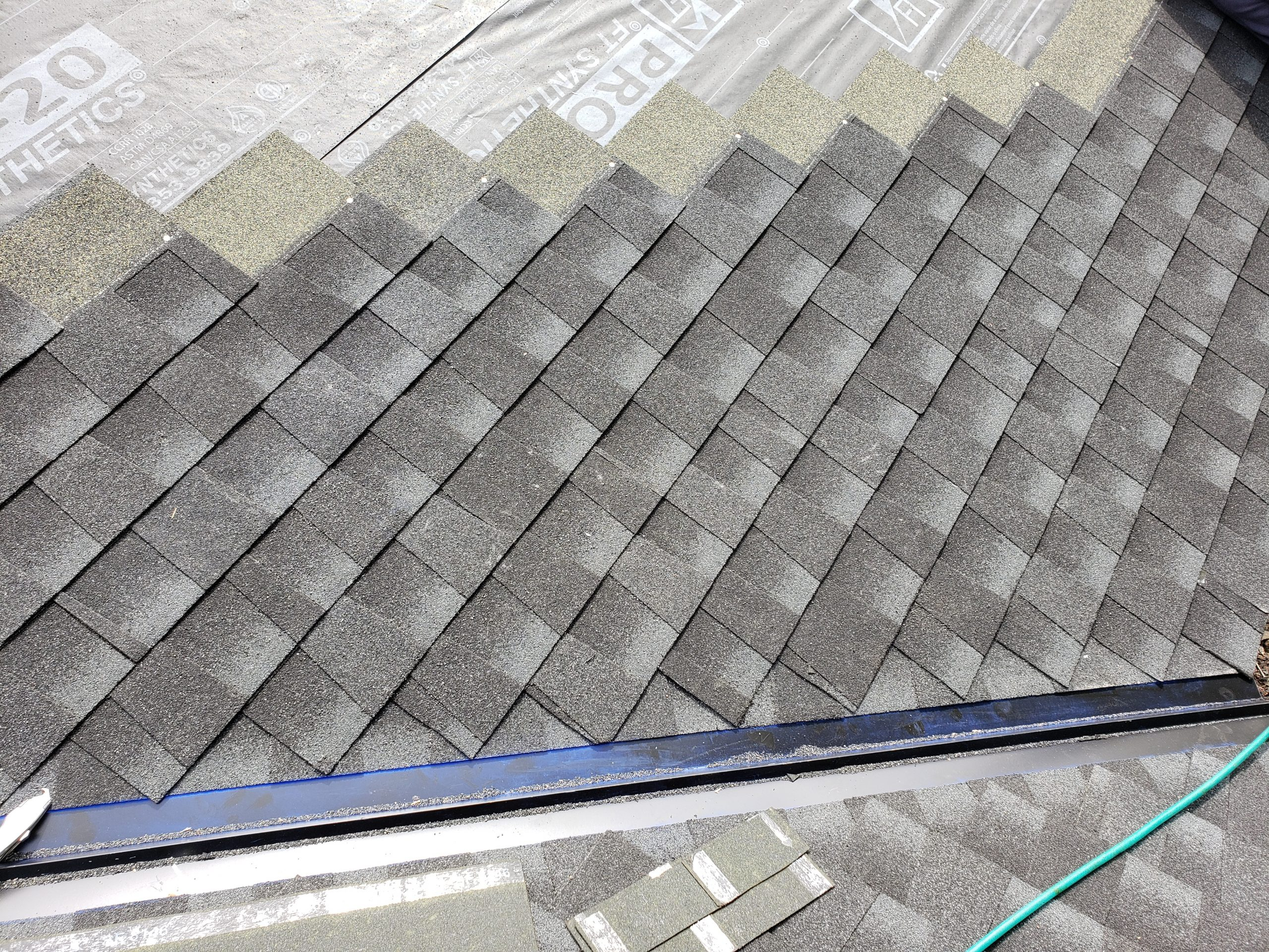 RE-ROOF and roofing