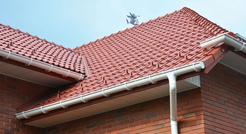 Roofing Gutter Plastic system